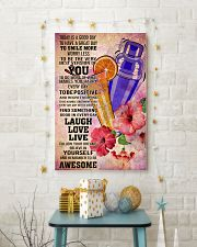 bartender- TODAY IS A GOOD DAY POSTER 16x24 Poster lifestyle-holiday-poster-3
