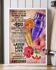 bartender- TODAY IS A GOOD DAY POSTER 16x24 Poster lifestyle-poster-4