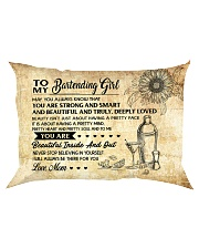 TO MY BARTENDING GIRL - RPILLOWCASE Rectangular Pillowcase front