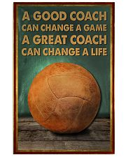 volleyball - a good coach poster - SR 11x17 Poster front