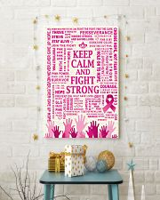 KEEP CALM AND FIGHT STRONG 16x24 Poster lifestyle-holiday-poster-3