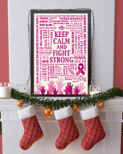 KEEP CALM AND FIGHT STRONG 16x24 Poster lifestyle-holiday-poster-4