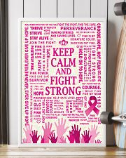 KEEP CALM AND FIGHT STRONG 16x24 Poster lifestyle-poster-4