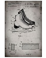 Skating shoes patent poster 11x17 Poster front