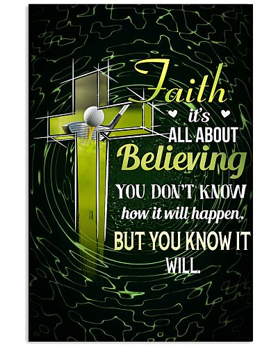 GOLF - FAITH IT'S ALL ABOUT BELIEVING
