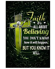 GOLF - FAITH IT'S ALL ABOUT BELIEVING 11x17 Poster front