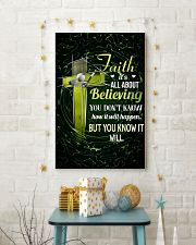 GOLF - FAITH IT'S ALL ABOUT BELIEVING 11x17 Poster lifestyle-holiday-poster-3