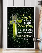 GOLF - FAITH IT'S ALL ABOUT BELIEVING 11x17 Poster lifestyle-poster-4