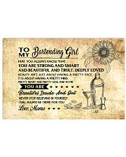 8- TO MY BARTENDING GIRL - RPILLOWCASE - MAMA KD 17x11 Poster front