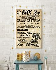 TO MY  BMX Boy - Mom 11x17 Poster lifestyle-holiday-poster-3