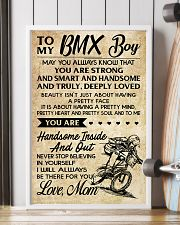 TO MY  BMX Boy - Mom 11x17 Poster lifestyle-poster-4