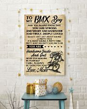 TO MY  BMX Boy - Mom 24x36 Poster lifestyle-holiday-poster-3