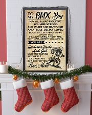 TO MY  BMX Boy - Mom 24x36 Poster lifestyle-holiday-poster-4