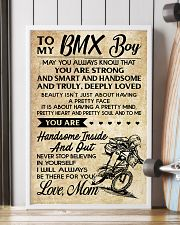 TO MY  BMX Boy - Mom 24x36 Poster lifestyle-poster-4