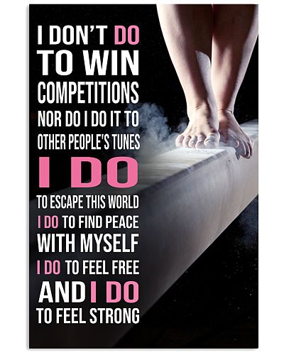 Gymnastics I DON'T DO TO WIN COMPETITION