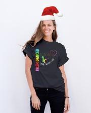 IRISH DANCE - LIVE LOVE Classic T-Shirt lifestyle-holiday-crewneck-front-1