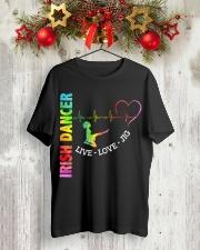 IRISH DANCE - LIVE LOVE Classic T-Shirt lifestyle-holiday-crewneck-front-2