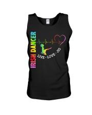 IRISH DANCE - LIVE LOVE Unisex Tank thumbnail