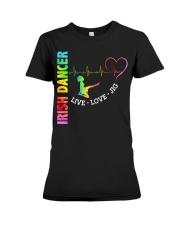 IRISH DANCE - LIVE LOVE Premium Fit Ladies Tee thumbnail