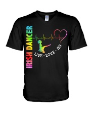 IRISH DANCE - LIVE LOVE V-Neck T-Shirt thumbnail