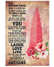 MONTESSORI- TODAY IS A GOOD DAY POSTER 16x24 Poster front