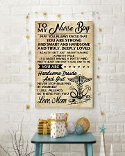 TO MY Nurse Boy - Mom 16x24 Poster lifestyle-holiday-poster-3