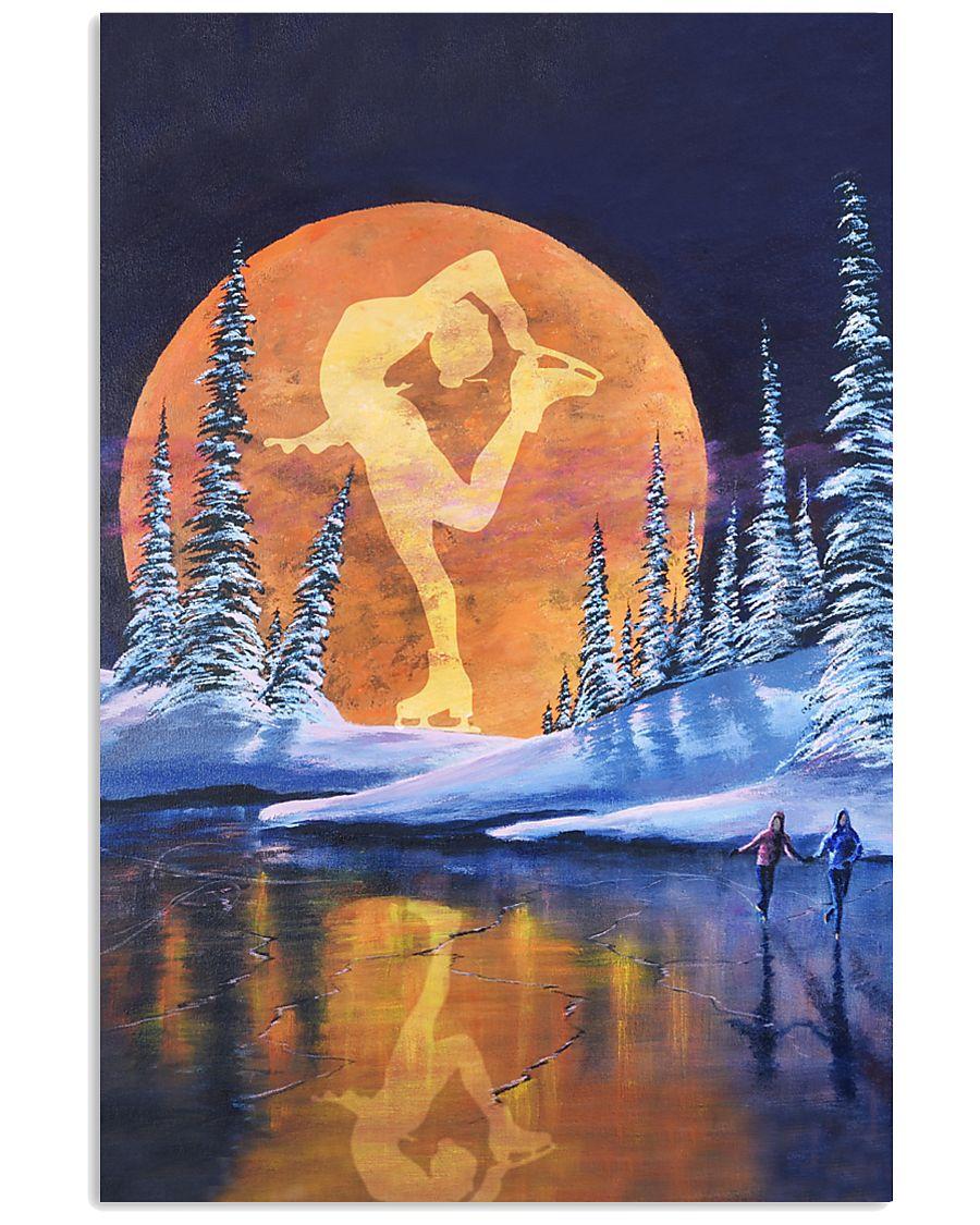 SKATING- SUNSET POSTER 11x17 Poster