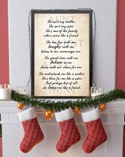 Laughs - Believes- Loves 11x17 Poster lifestyle-holiday-poster-4