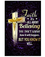 NURSE - FAITH IT'S ALL ABOUT BELIEVING 11x17 Poster front