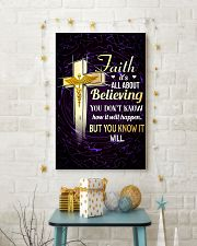NURSE - FAITH IT'S ALL ABOUT BELIEVING 11x17 Poster lifestyle-holiday-poster-3
