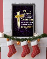 NURSE - FAITH IT'S ALL ABOUT BELIEVING 11x17 Poster lifestyle-holiday-poster-4