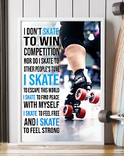 5- I DON'T SKATE TO WIN COMPETITION - ROLLER DERB  11x17 Poster lifestyle-poster-4