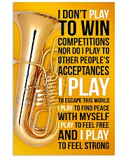 TUBA - I DON'T PLAY TO WIN COMPETITIONS 11x17 Poster front