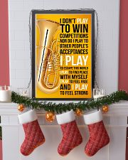 TUBA - I DON'T PLAY TO WIN COMPETITIONS 11x17 Poster lifestyle-holiday-poster-4
