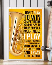 TUBA - I DON'T PLAY TO WIN COMPETITIONS 11x17 Poster lifestyle-poster-4