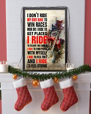 I DON'T RIDE MY DIRT BIKE TO WIN RACES POSTER 16x24 Poster lifestyle-holiday-poster-4