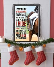 I DON'T RIDE MY DRESSAGE HORSE TO WIN RACES 11x17 Poster lifestyle-holiday-poster-4