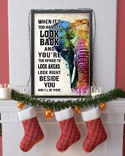WHEN IT'S TOO HARD TO LOOK BACK ELEPHANT POSTER  11x17 Poster lifestyle-holiday-poster-4