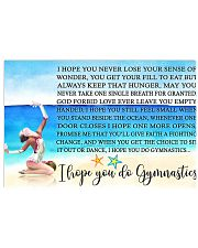 11- I HOPE YOU DO GYMNASTICS KD 17x11 Poster front