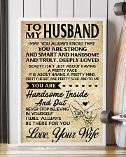 TO MY HUSBAND-YOUR WIFE 16x24 Poster lifestyle-poster-4