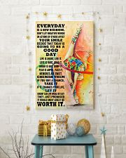 gymnastics EVERYDAY IS A NEW 11x17 Poster lifestyle-holiday-poster-3