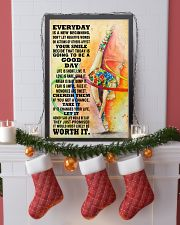gymnastics EVERYDAY IS A NEW 11x17 Poster lifestyle-holiday-poster-4
