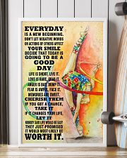 gymnastics EVERYDAY IS A NEW 11x17 Poster lifestyle-poster-4