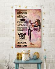4-teawondo- TODAY IS A GOOD DAY POSTER kd 16x24 Poster lifestyle-holiday-poster-3