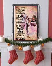 4-teawondo- TODAY IS A GOOD DAY POSTER kd 16x24 Poster lifestyle-holiday-poster-4