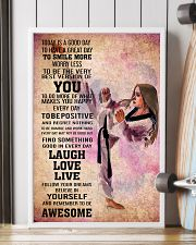 4-teawondo- TODAY IS A GOOD DAY POSTER kd 16x24 Poster lifestyle-poster-4