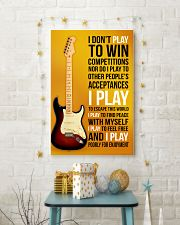 10- ELECTRIC GUITAR 2 -I PLAY POORLY FOR ENJOYMENT 11x17 Poster lifestyle-holiday-poster-3