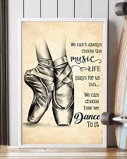 dance- we can't always choose the music poster 11x17 Poster lifestyle-poster-4