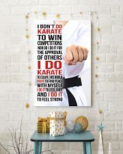 I DON'T DO KARATE TO WIN COMPETITIONS - KD 2 11x17 Poster lifestyle-holiday-poster-3