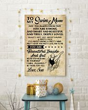 TO MY SWIM MOM SON 16x24 Poster lifestyle-holiday-poster-3